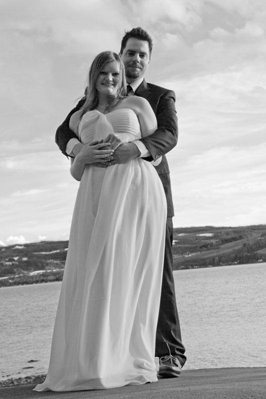 Bryllup Linn og Glenn